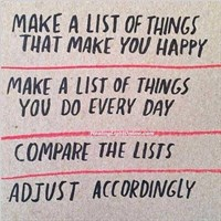 happy list