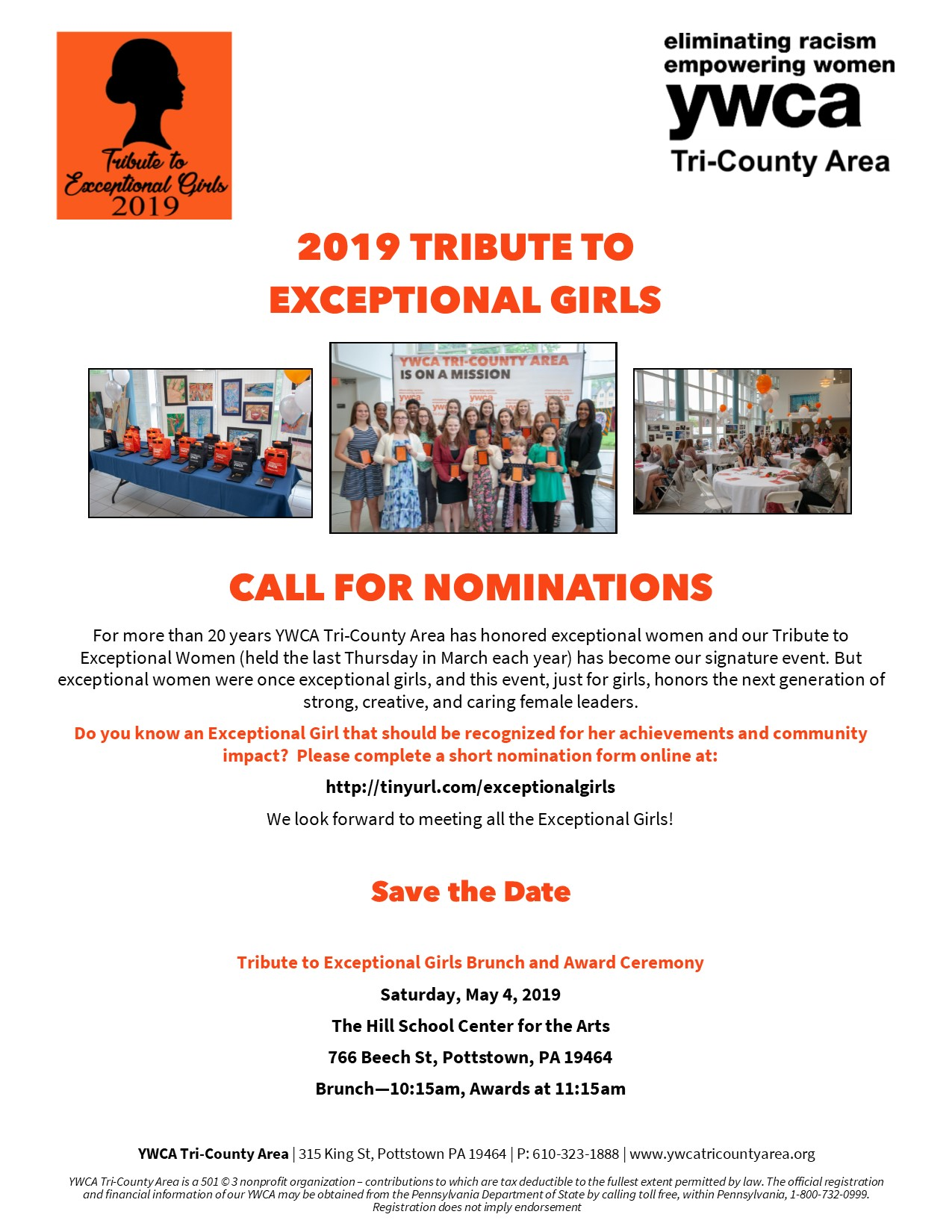 2019 Tribute to Exceptional Girls