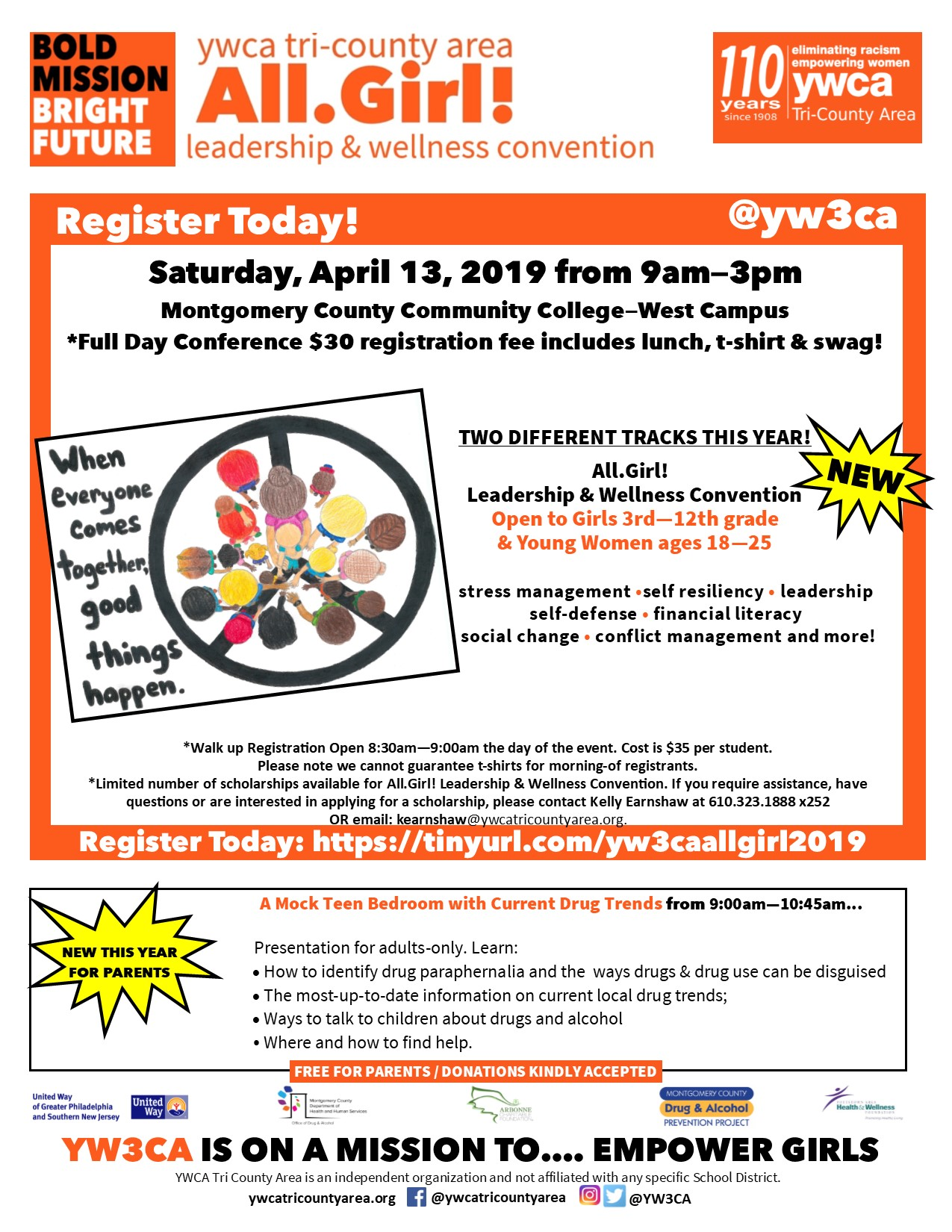 YWCA- 2019 All Girl Leadership & Wellness Convention