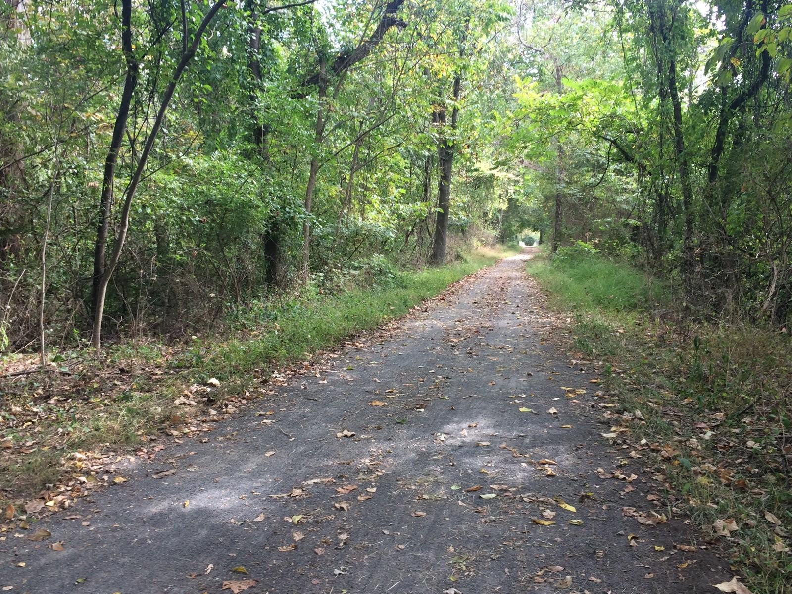 Walking trail in Pottstown area park