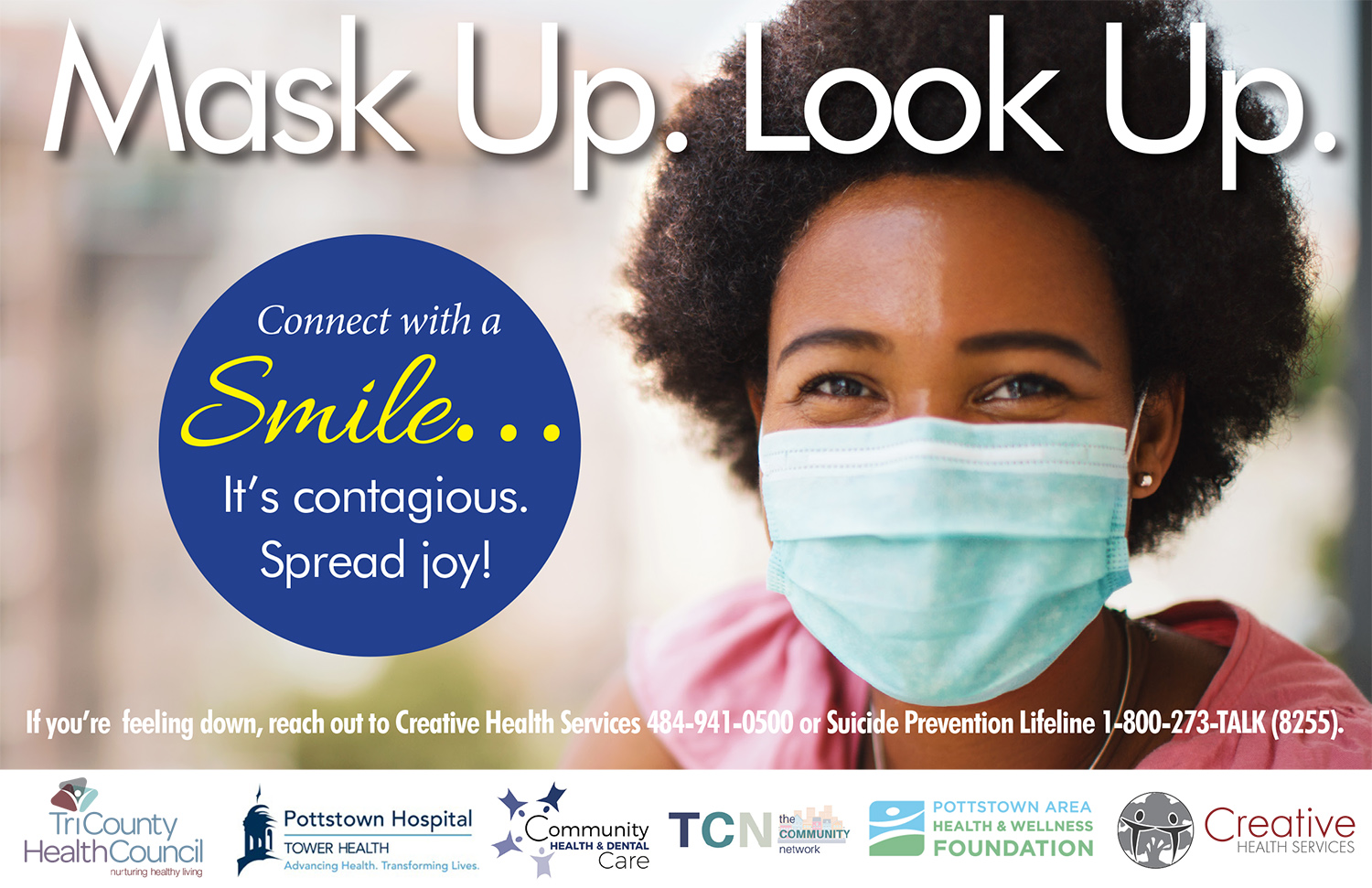 CONNECT WITH A SMILE CAMPAIGN-Young Female
